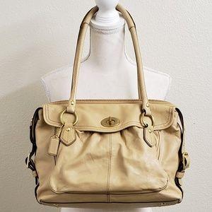 COACH - Tan Addison Briefcase Laptop Bag
